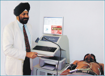 patient checkup to avoid heart bypass